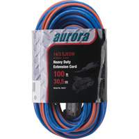 Triple Tap All-Weather TPE-Rubber Extension Cords with Light Indicator XH237 | Kelford